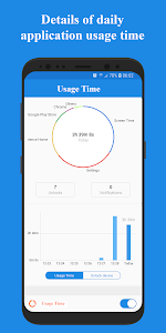 screenshot of Usage Time - App Usage Manager version 1.5.6