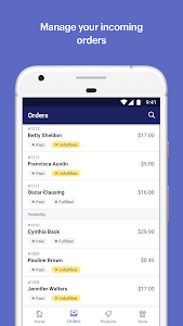 screenshot of Shopify: Sell Online Ecommerce version 7.8.1
