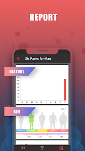screenshot of Six Packs for Man–Body Building with No Equipment version 1.0.7