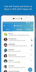 screenshot of Skype Lite - Free Video Call & Chat version 1.84.0.1