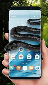 screenshot of Snake on screen live wallpaper for prank ? version 2.0.0.2031