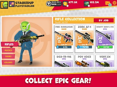 screenshot of Snipers vs Thieves version 2.4.29057