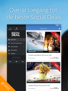 screenshot of Social Deal version 2.0.11
