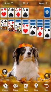 screenshot of Solitaire version 1.2.149
