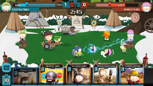 screenshot of South Park: Phone Destroyer™ version 3.0.1