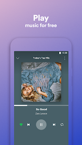 screenshot of Spotify Lite version 0.13.13.6