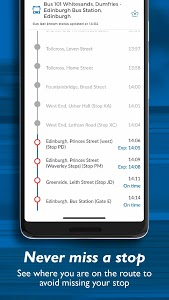 screenshot of Stagecoach Bus: Plan>Track>Buy version 2.0.21