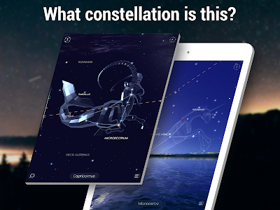 screenshot of Star Walk 2 Free - Identify Stars in the Night Sky version Varies with device