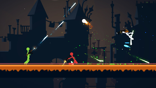screenshot of Stickfight Infinity version 1.15