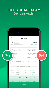 screenshot of Stockbit - Stock Investing for Millenials version 1.7.25