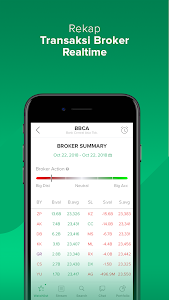 screenshot of Stockbit - Stock Investing for Millenials version 1.7.49