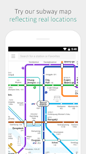 screenshot of KakaoMetro - Subway Navigation version Varies with device