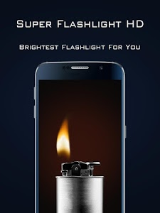 screenshot of Super Flashlight HD version 1.0.0