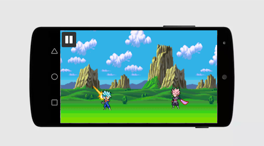 screenshot of Super Saiyan Dragon Goku Fighter version 1.3
