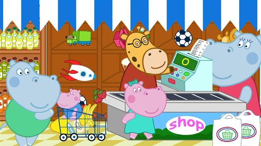 screenshot of Supermarket: Shopping Games for Kids version 2.6.4