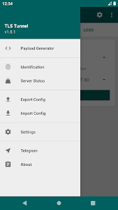 screenshot of TLS Tunnel - Free VPN for Injection version 1.8.5-4
