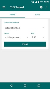 screenshot of TLS Tunnel - Free VPN for Injection version 1.6.1