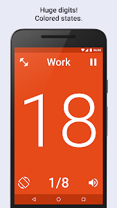 screenshot of Tabata Timer for HIIT training version 2.3.0