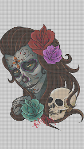 screenshot of Tattoo Color By Number Draw Book Page Pixel Art version 1.9