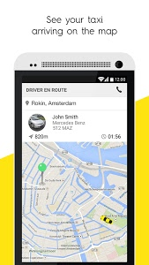screenshot of Taxify version Varies with device