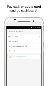 screenshot of Taxify version CA.2.84