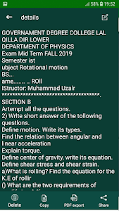 screenshot of Text Scanner, Image to Text Converter (OCR) PDF version 1.1