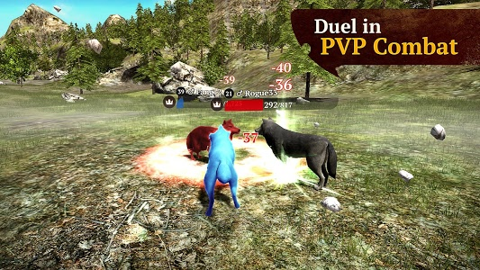 screenshot of The Wolf version 1.7.3