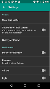 screenshot of Themes for Plus Messenger version 1.5.3