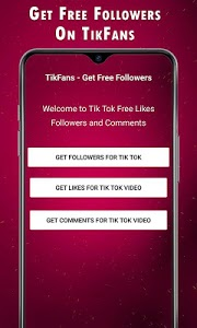 screenshot of TikFans - Get Free Followers version 1.3