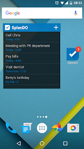 screenshot of To Do List version 3.0.26
