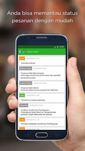 screenshot of Tokopedia Online Shopping Mall version 1.8.5