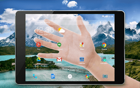 screenshot of Transparent Screen Simulated version 5.0