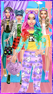 screenshot of Trendy Fashion Styles Dress Up version 2.1.1