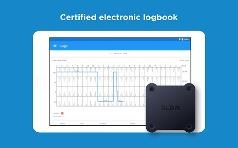 screenshot of Trucker Path ELD - Electronic Logbook for Truckers version 2.4.8.0