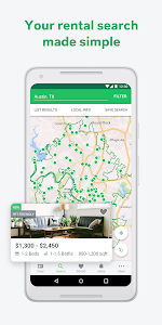 screenshot of Trulia Rent Apartments & Homes version Varies with device