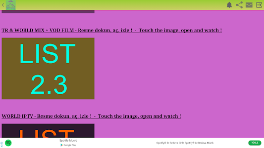 screenshot of Turk TV 7/24 + IPTV version v2.9.2