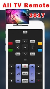 screenshot of Tv Remote Control For All Tv version 6.8.8