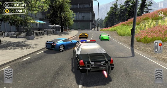 screenshot of US City Police Car Chase - Police Car Driving Game version 1.0