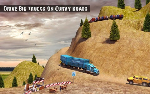 screenshot of USA Truck Driving School: Off-road Transport Games version 1.10