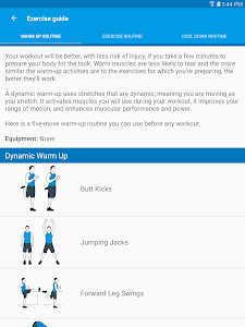 screenshot of Ultimate Full Body Workouts version 1.23