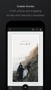 screenshot of Unfold — Create Stories version 3.10.3
