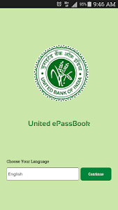 screenshot of United ePassbook version 1.0.6
