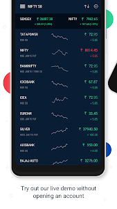 screenshot of Upstox Pro: Stock trading app for NSE, BSE & MCX version 3.16.0