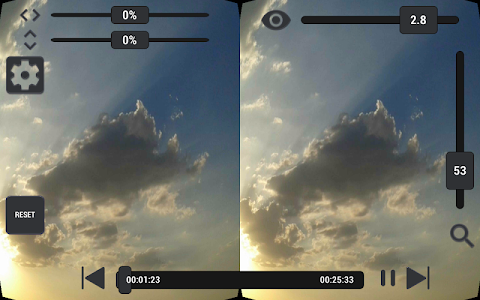 screenshot of VaR's VR Player PRO version 1.00
