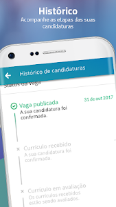 screenshot of VAGAS de Emprego version 7.23