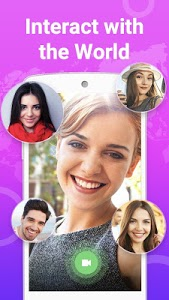 screenshot of Yepop: live video chat online with friends version 1.0.4293
