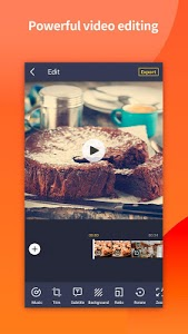 screenshot of Camli - Video Editor Video Maker & Beauty Camera version 3.0.1