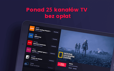 screenshot of WP Pilot - tv online za darmo version 3.25.0