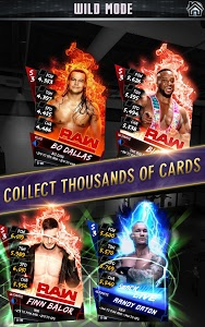 screenshot of WWE SuperCard: Wrestling Action & Card Battle Game version 2.0.0.267065