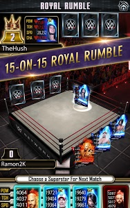 screenshot of WWE SuperCard version 2.0.0.235293